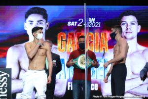 Deejay Kriel, Felix Alvarado, Luke Campbell, Roger Gutierrez, Ryan Garcia, Sean Garcia - Boxing News