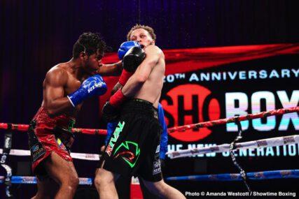 Mykquan Williams, Yeis Solano - Boxing Results