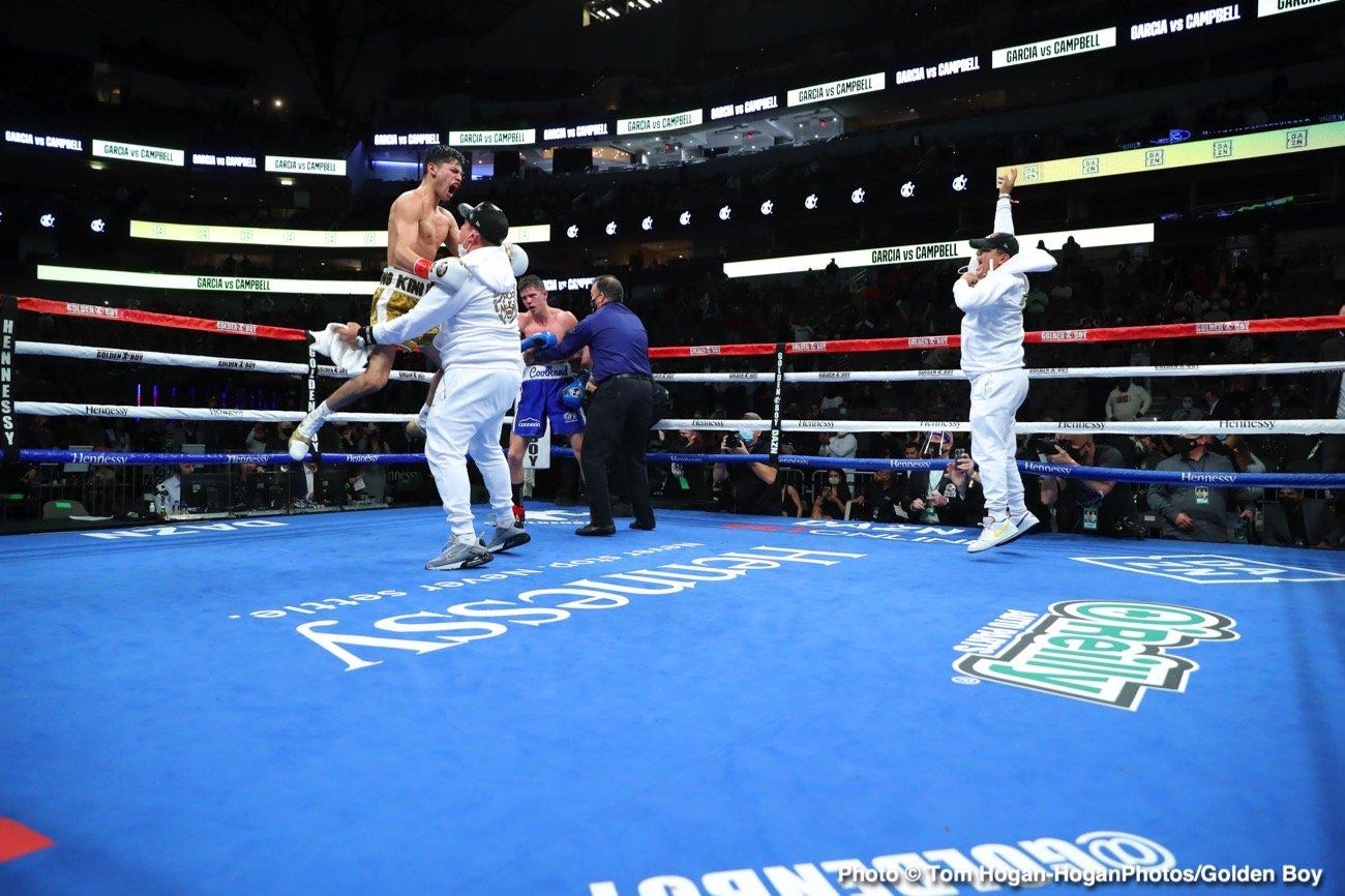 Gervonta Davis, Ryan Garcia, Teofimo Lopez - Boxing News