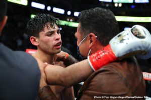 Ryan Garcia Moves On From Pacquiao Dream Fight, Says He's Working On Another Fight