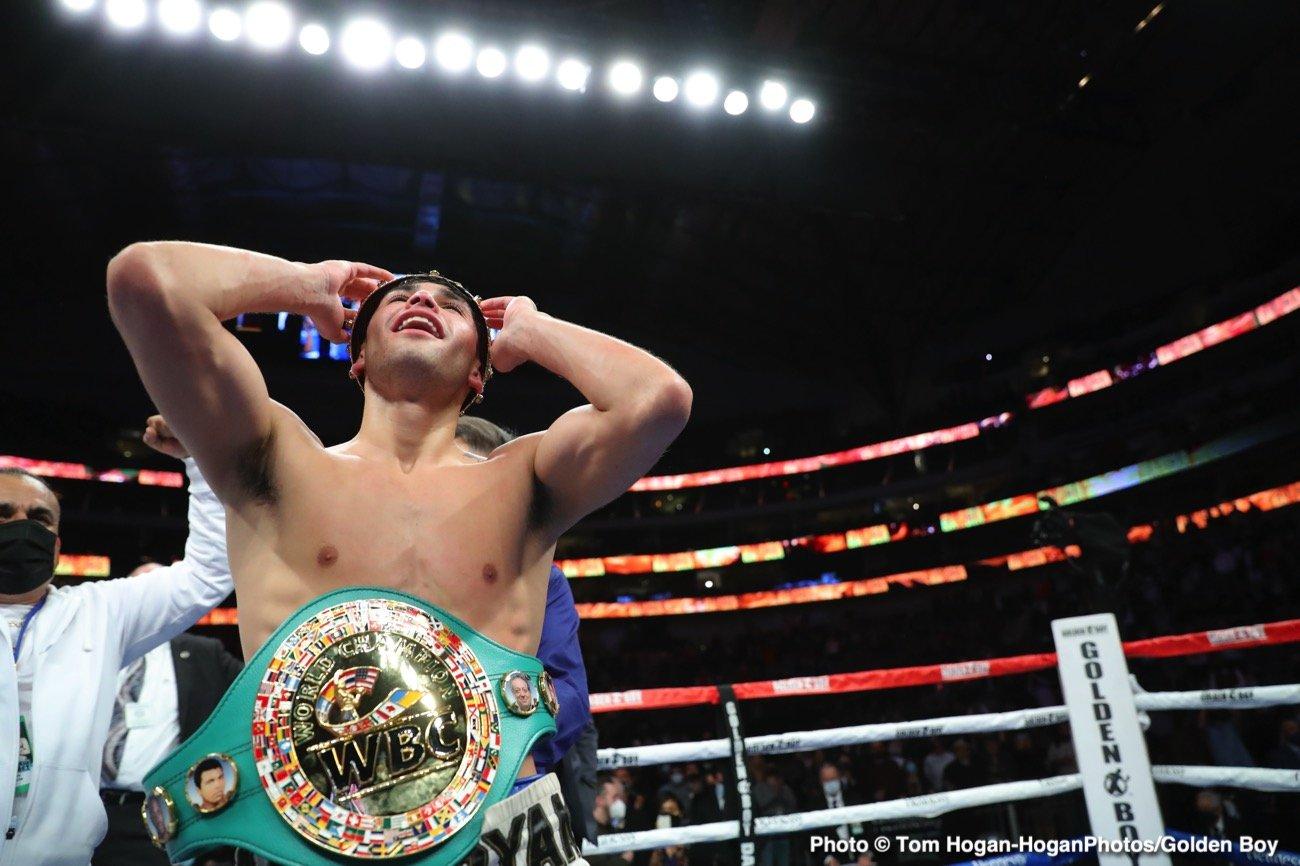 Javier Fortuna, Ryan Garcia - Boxing News