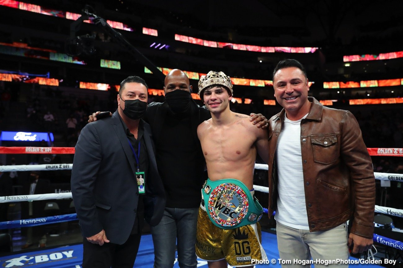 Luke Campbell, Ryan Garcia - Boxing Results