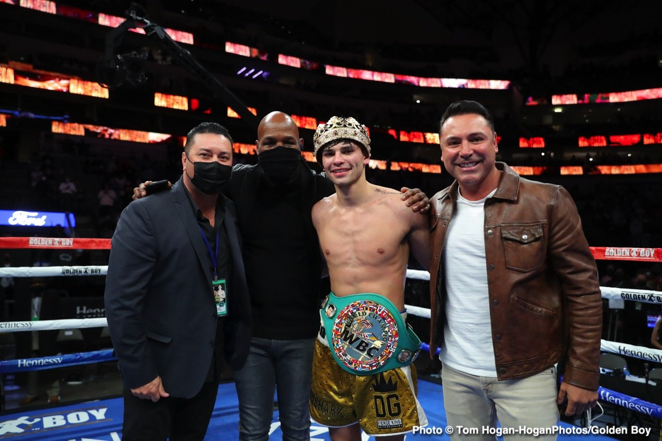 Devin Haney, Eddie Hearn, Ryan Garcia - Boxing News
