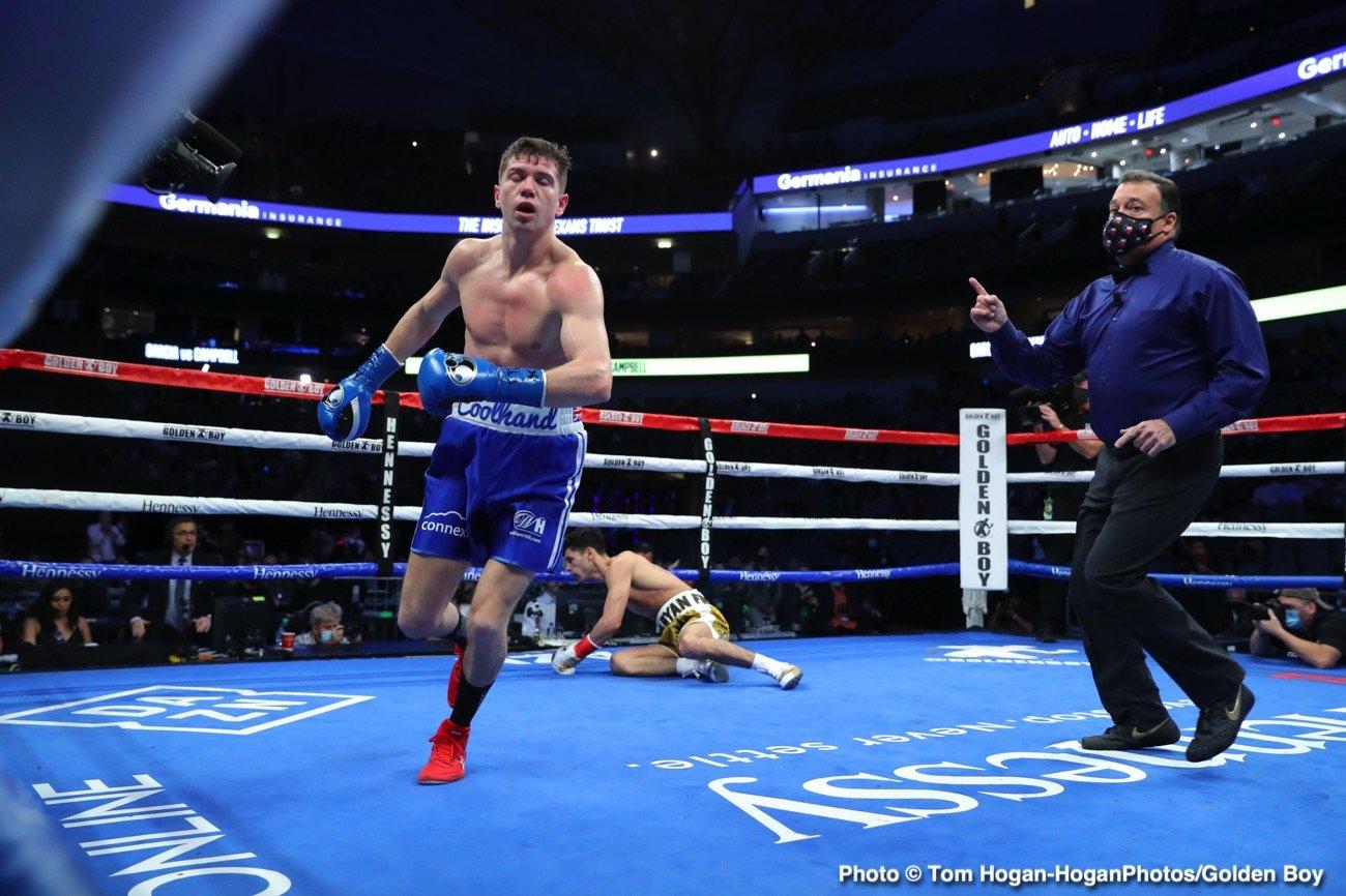 Devin Haney, Eddie Hearn, Gervonta Davis, Ryan Garcia - Boxing News