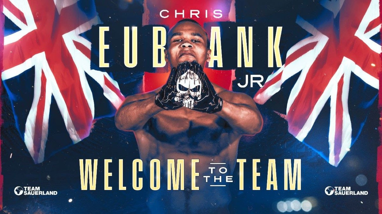 Chris Eubank Jr - Press Room