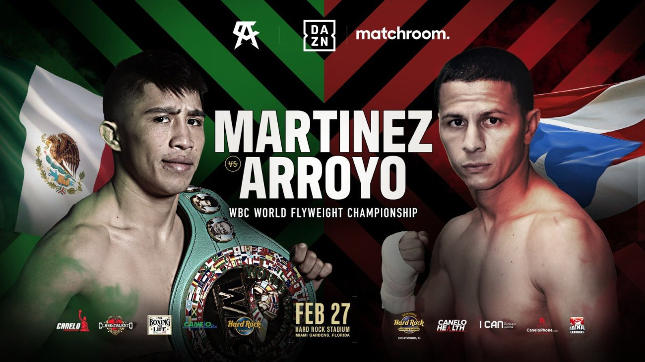 Julio Cesar Martinez, McWilliams Arroyo - Boxing News
