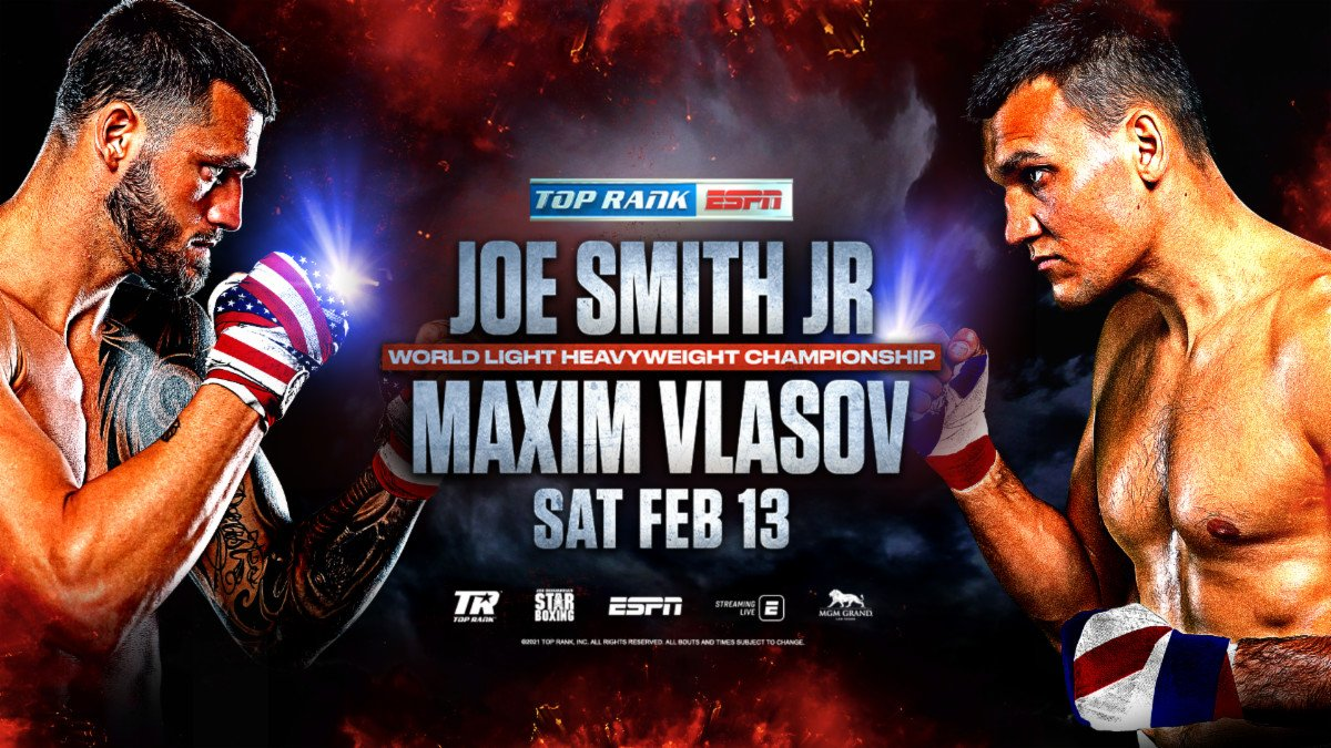 Joe Smith Jr., Maxim Vlasov - Boxing News