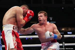 Canelo Alvarez vs. Billy Joe Saunders May 8th at AT&T Stadium or Allegiant Stadium
