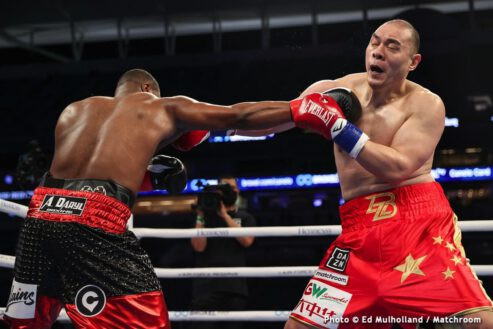 Jerry Forrest, Zhilei Zhang - Boxing News