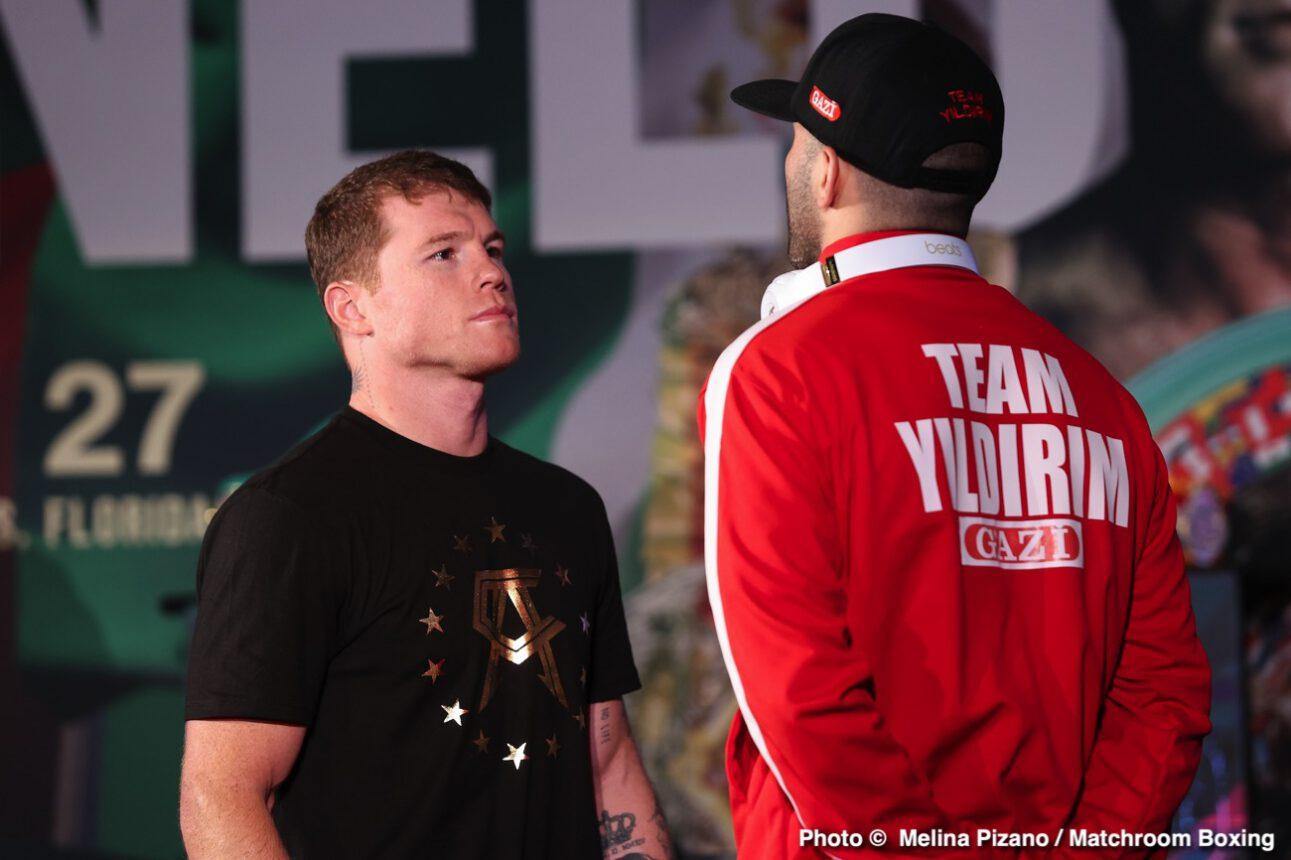 Avni Yildirim, Canelo Alvarez - Boxing News