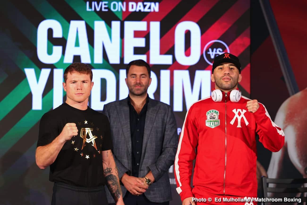 Avni Yildirim, Canelo Alvarez, Eddie Hearn, Julio Cesar Martinez, McWilliams Arroyo, Zhilei Zhang - Boxing News