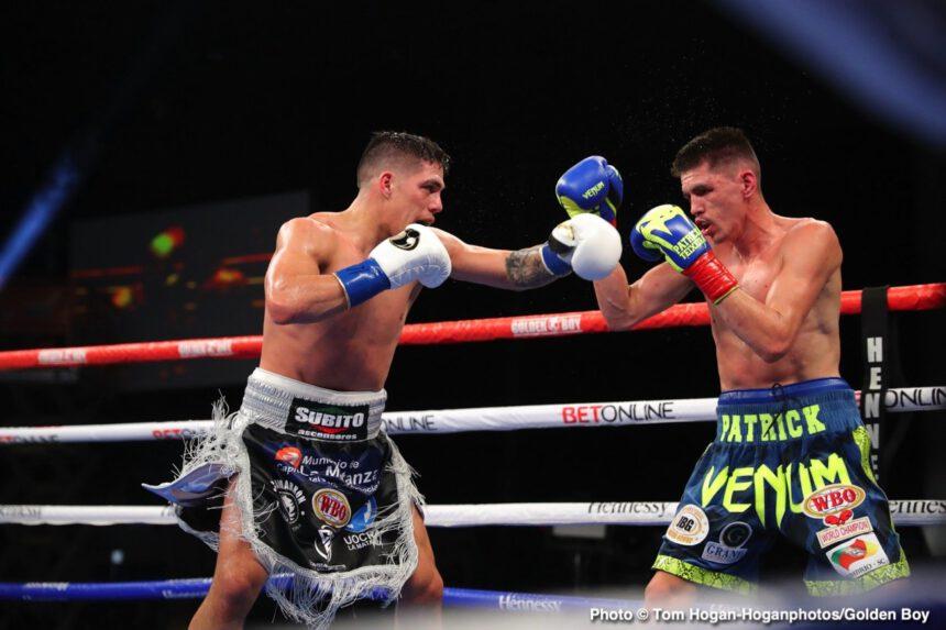 Brian Carlos Castaño, Patrick Teixeira - Boxing News