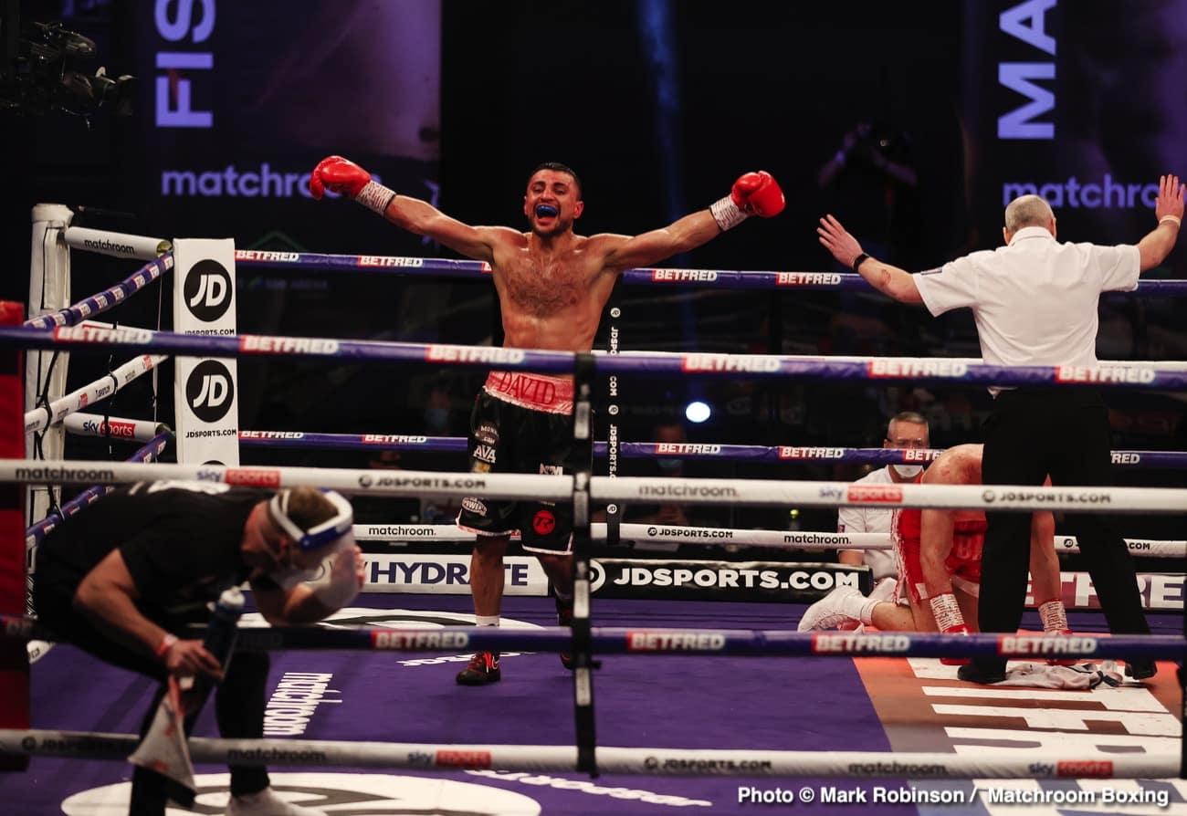 David Avanesyan, Florian Marku, Jordan Gill, Josh Kelly - Boxing News