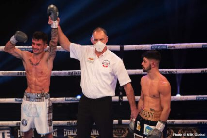 Gavin Gwynne, Sean McComb - Boxing Results