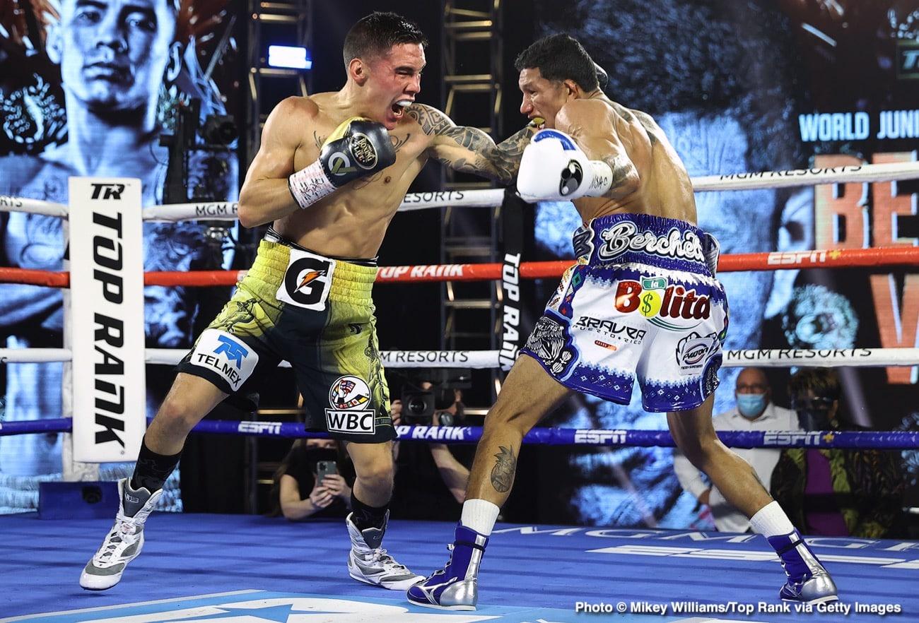 Gervonta Davis, Leonard Ellerbe, Miguel Berchelt, Óscar Valdez - Boxing News