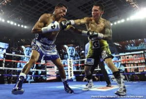 Bob Arum says Oscar Valdez vs. Shakur Stevenson possible next