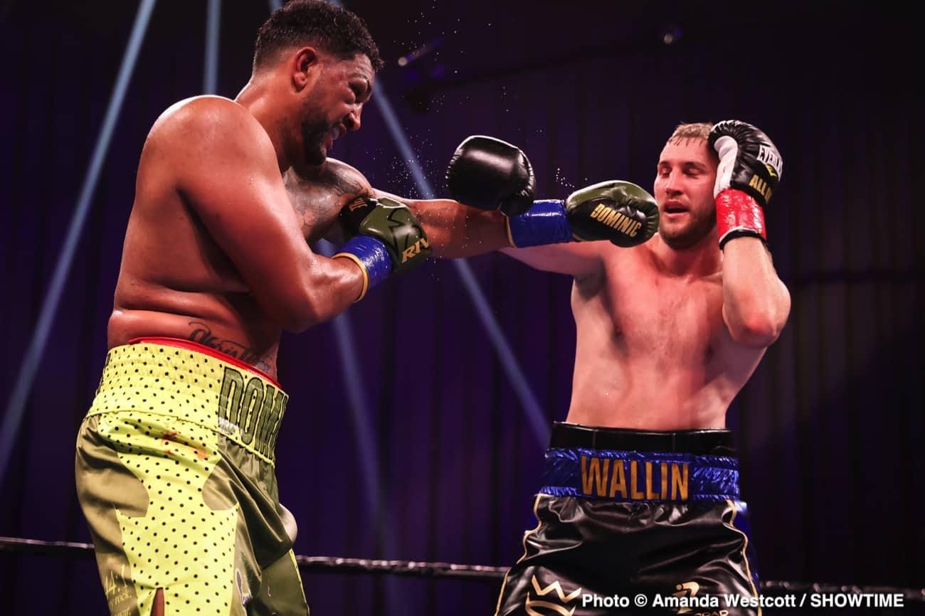 Dominic Breazeale, Otto Wallin - Boxing Results