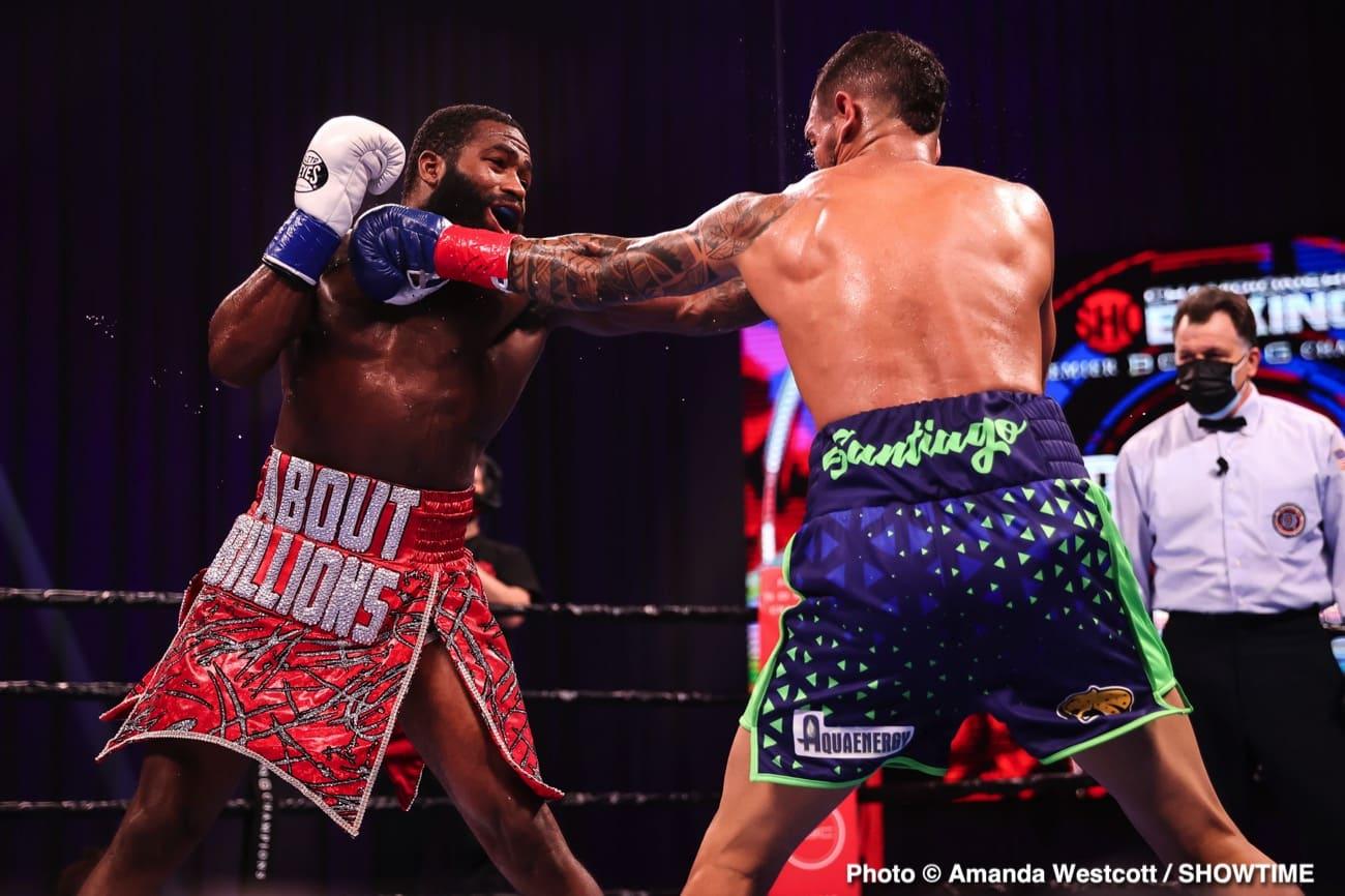 Adrien Broner, Regis Prograis, Triller - Boxing News