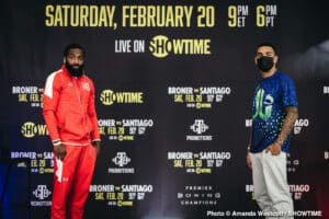 Broner vs. Santiago weight changed to 147-lbs