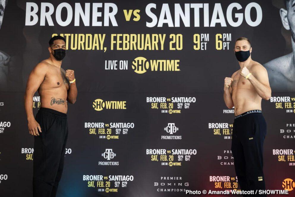 Adrien Broner, Dominic Breazeale, Jovanie Santiago, Otto Wallin, Robert Easter Jr., Ryan Martin - Boxing News