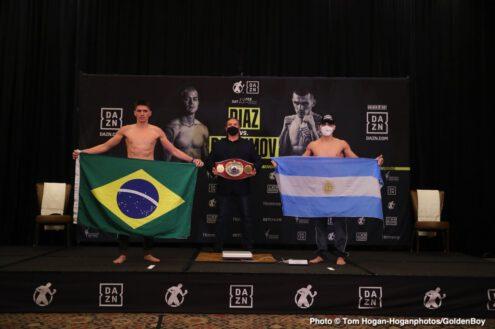 Brian Carlos Castaño, Joseph Diaz Jr, Patrick Teixeira, Shavkatdzhon Rakhimov - Boxing News