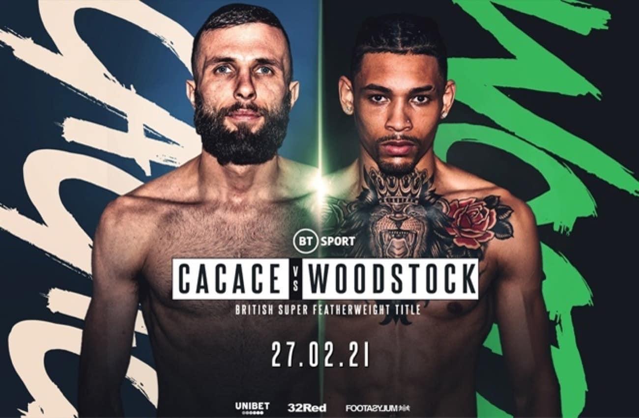 Anthony Cacace, Lyon Woodstock - British Boxing