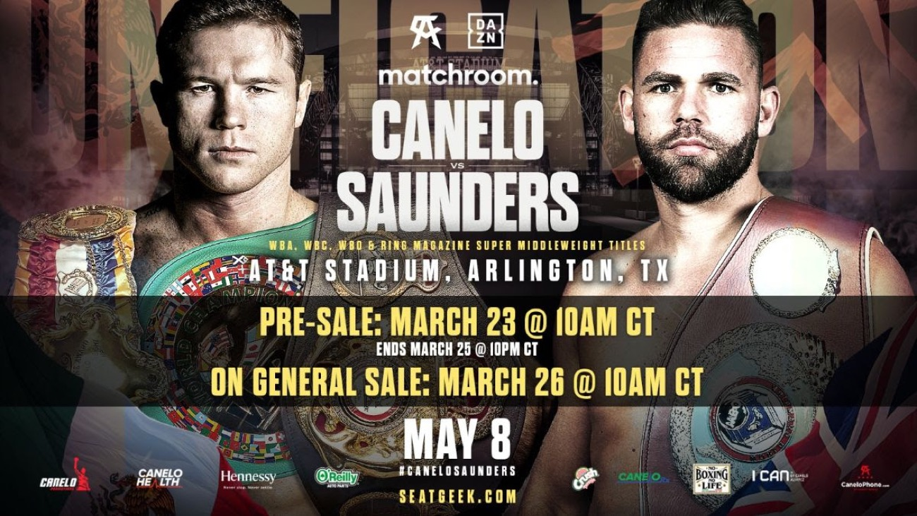 Billy Joe Saunders, Canelo Alvarez, Chris Eubank Jr - Boxing News