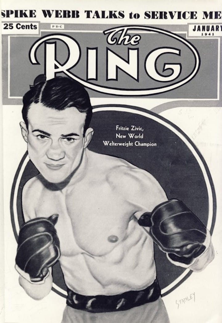 Fritzie Zivic - Boxing History