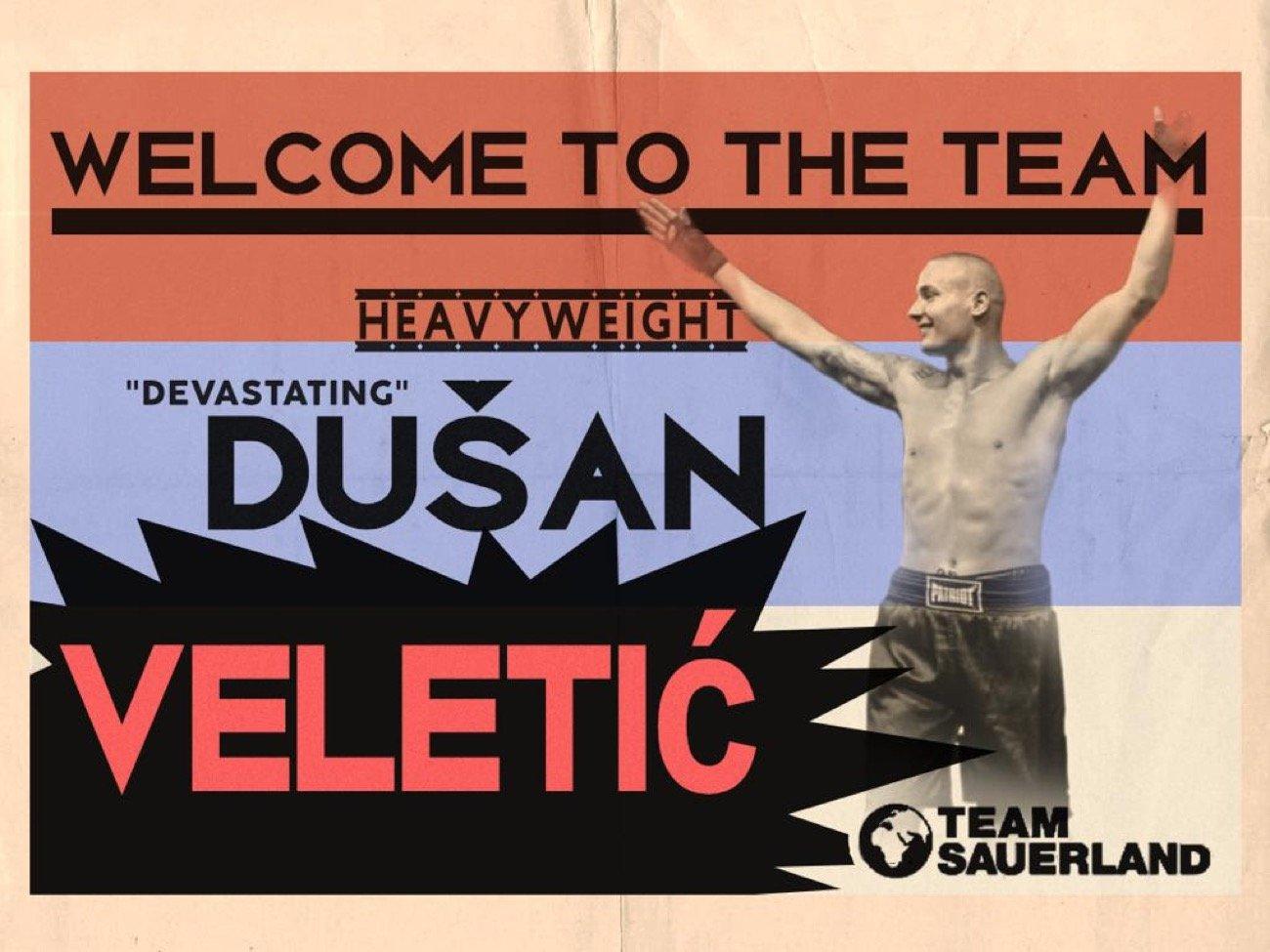 Dusan Veletic - Press Room
