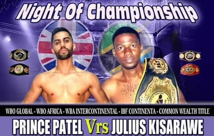 Julius Kisarawe, Prince Patel - Boxing News