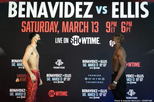 David Benavidez, Isaac Cruz, Jamontay Clark, Ronald Ellis - Boxing News