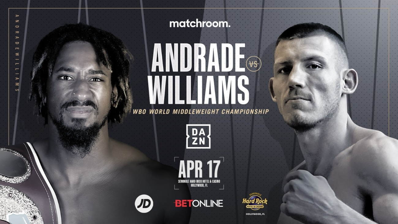 Demetrius Andrade, Liam Williams - Press Room