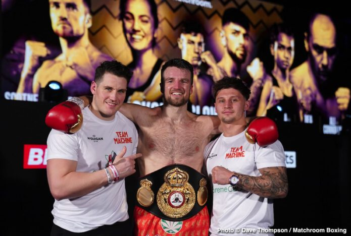 Anthony Fowler, Krzysztof Glowacki, Lawrence Okolie - Boxing Results