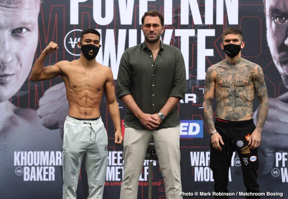 Alexander Povetkin, Campbell Hatton, Dillian Whyte, Eric Molina, Fabio Wardley - Boxing News
