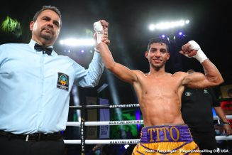 Alberto Machado, Angel Fierro - Boxing Results