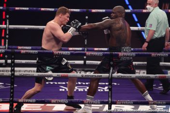 Alexander Povetkin, Campbell Hatton, Dillian Whyte, James Metcalf, Ted Cheeseman - Boxing News