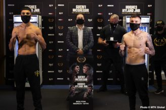 Karim Guerfi, Lee McGregor, Maxi Hughes, Patrick Hyland - British Boxing