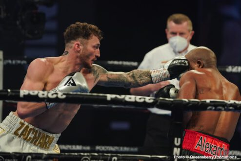 Danny Ball, Zach Parker - Boxing Results