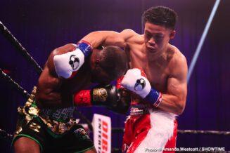 Brandun Lee, Samuel Teah - Boxing Results