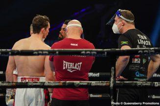 Lennox Clarke - Boxing Results