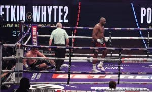 Dillian Whyte Gets Revenge, Stops Povetkin In Fourth Round!