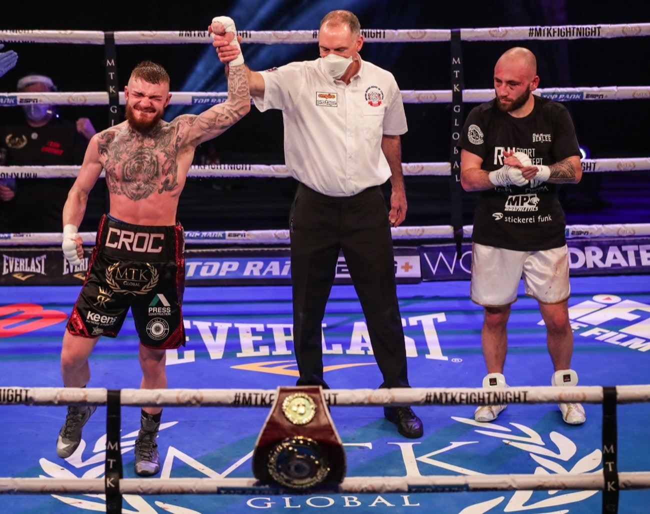 Gary Cully, Lewis Crocker - Boxing Results