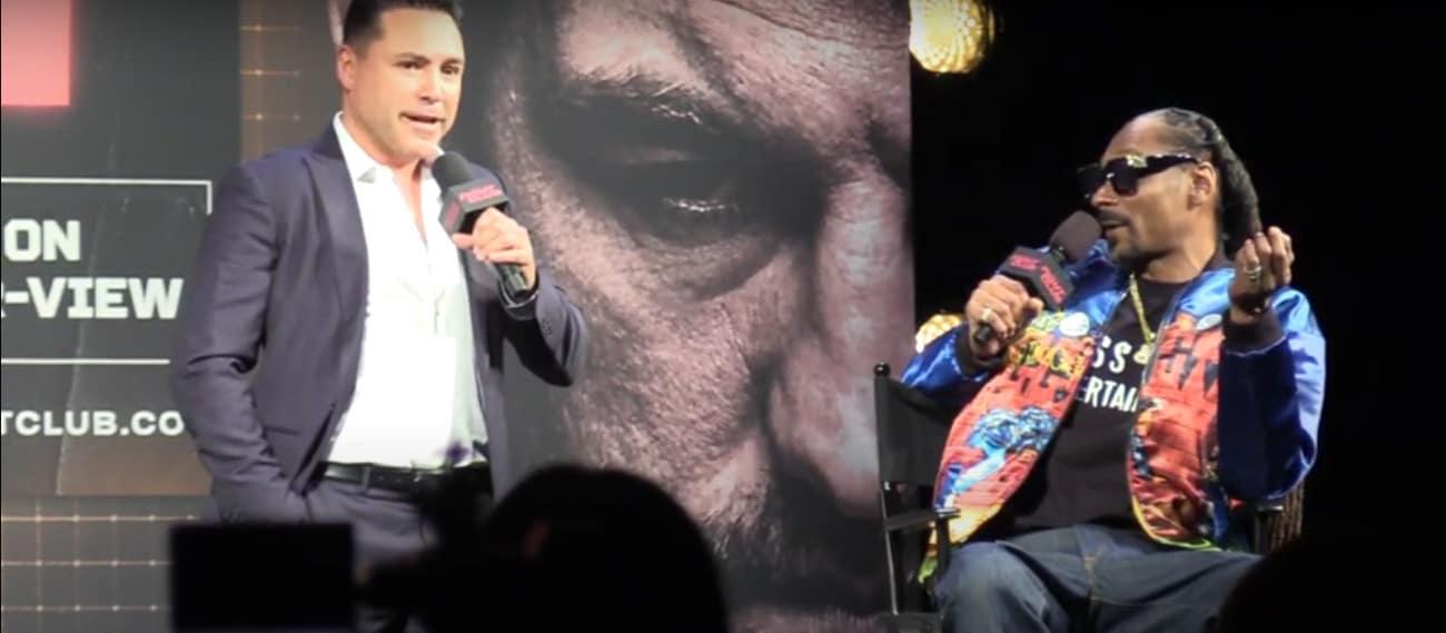 Oscar De La Hoya, Triller - Boxing News