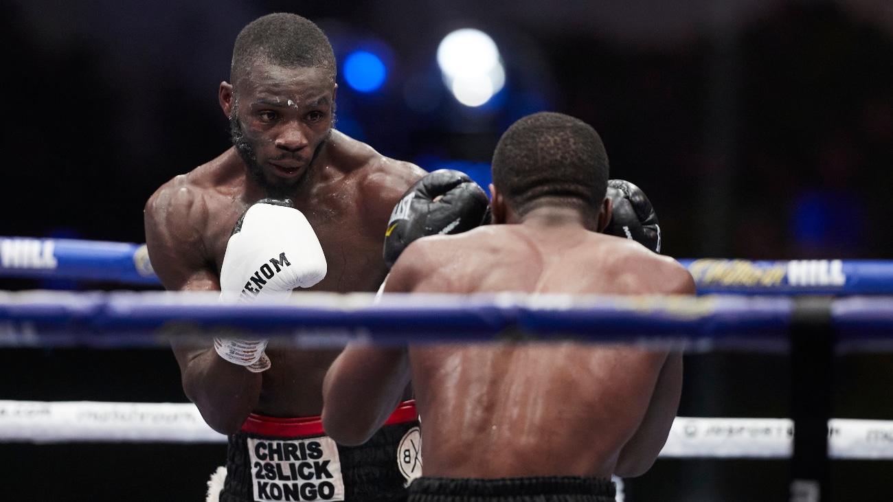 Chris Kongo, Michael McKinson - British Boxing