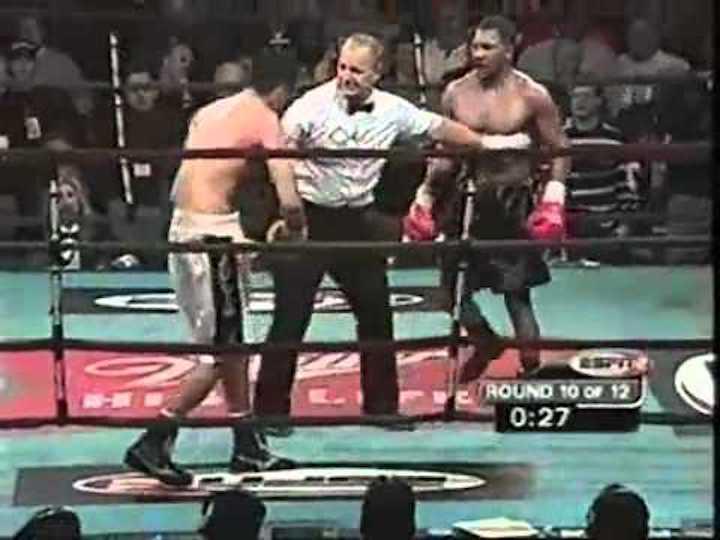 Julian Letterlough, Julio Cesar Gonzalez - Boxing History