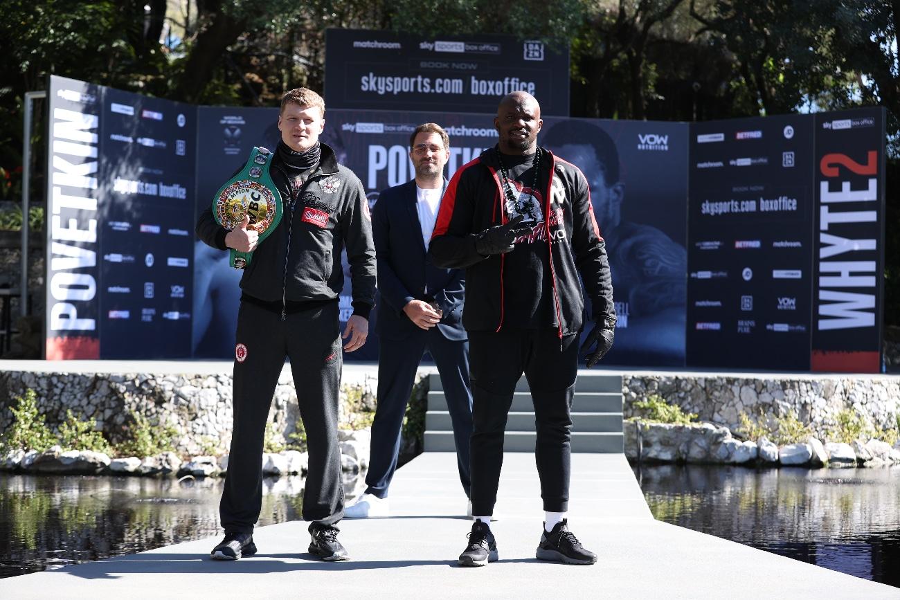 Alexander Povetkin, Dillian Whyte, Eddie Hearn, Fabio Wardley - Boxing News