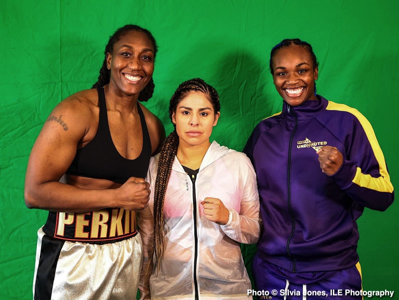 Claressa Shields, Marie-Ève Dicaire - Press Room