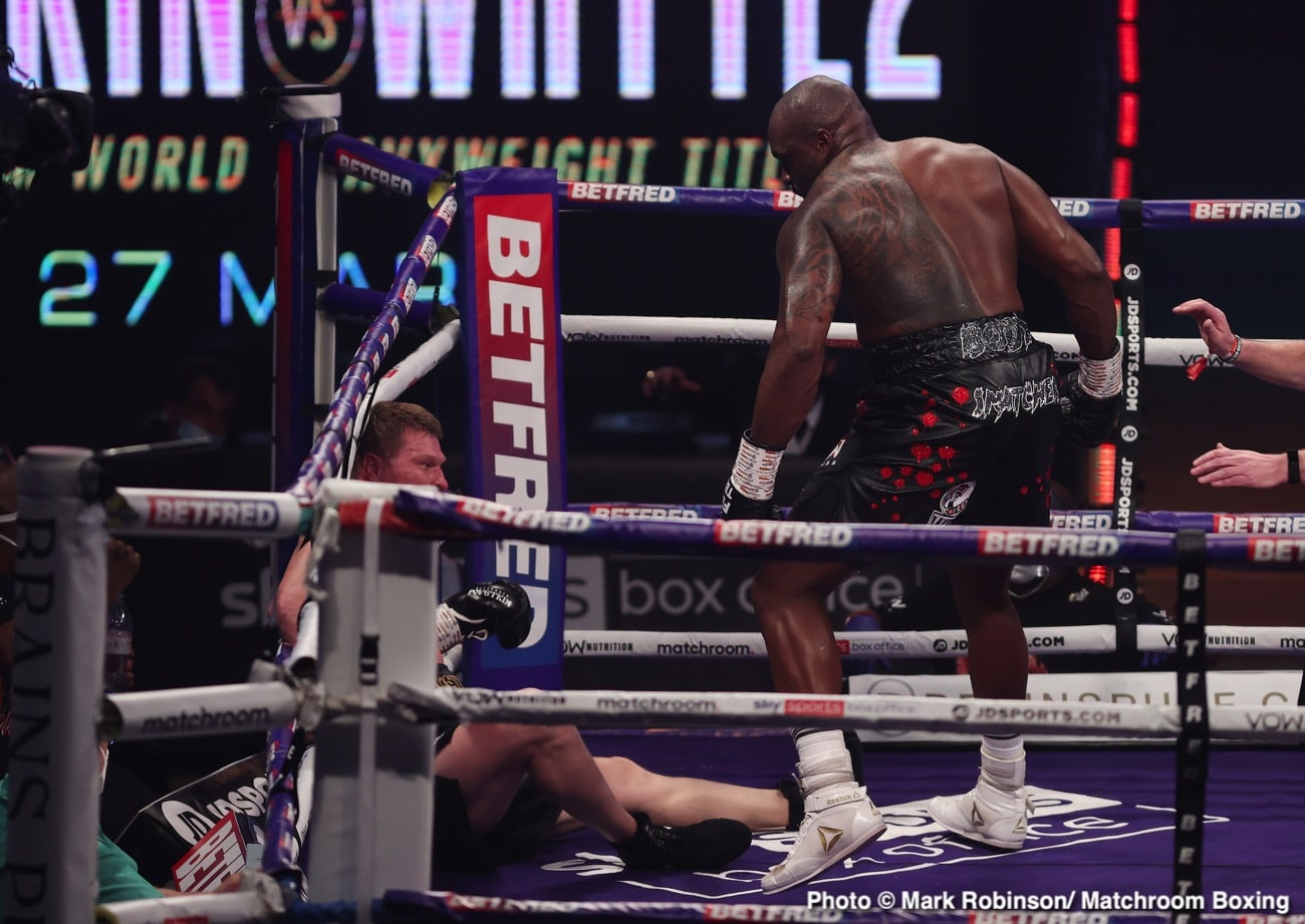 Alexander Povetkin, Dillian Whyte, Eddie Hearn - Boxing News