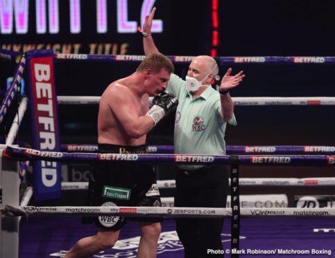 Alexander Povetkin, Dillian Whyte - Boxing News