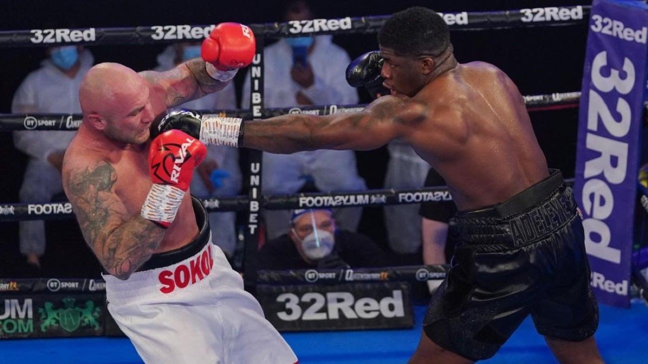 David Adeleye - British Boxing